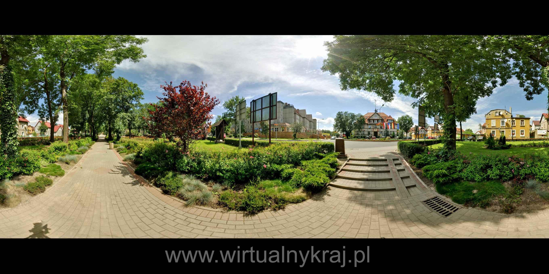 Prezentacja panoramiczna dla obiektu park im. Jana Pawła II