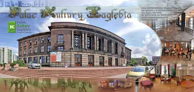 Prezentacja panoramiczna dla obiektu Pałac Kultury Zagłębia w Dąbrowie Górniczej