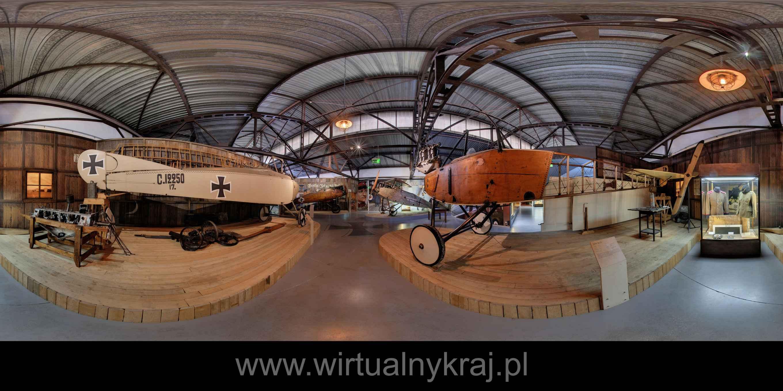 Prezentacja panoramiczna dla obiektu Muzeum Lotnictwa - Skrzydła Wielkiej Wojny