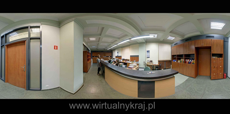 Prezentacja panoramiczna dla obiektu Wydział Zarządzania