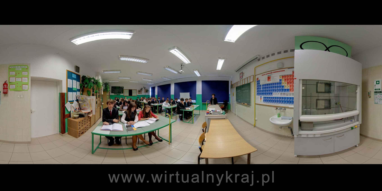 Prezentacja panoramiczna dla obiektu III Liceum Ogólnokształcące im. Cypriana Kamila Norwida