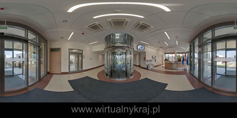 Prezentacja panoramiczna dla obiektu Małopolskie Centrum Biotechnologii UJ