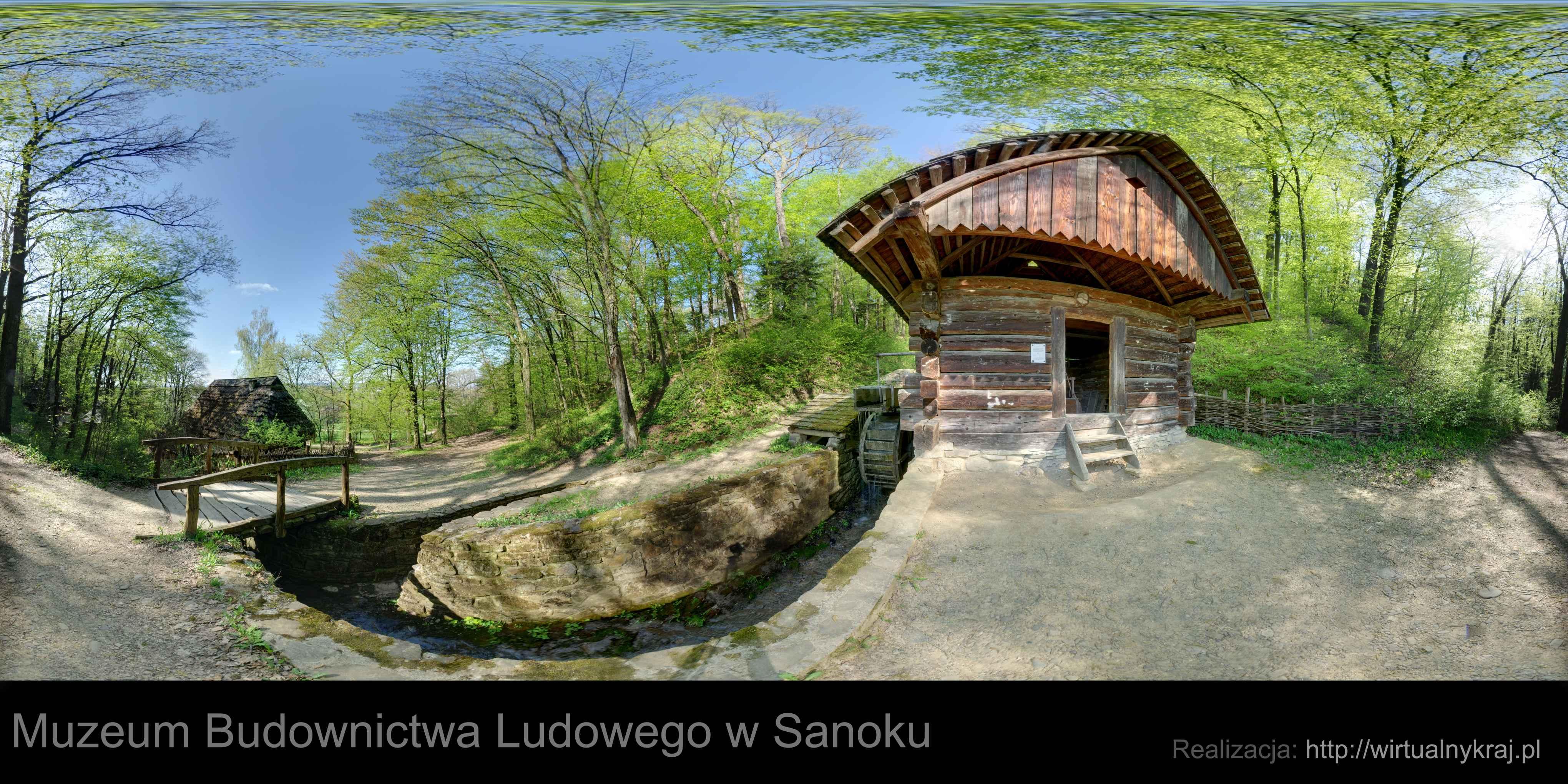 Prezentacja panoramiczna dla obiektu Muzeum Budownictwa Ludowego w Sanoku_TEMP