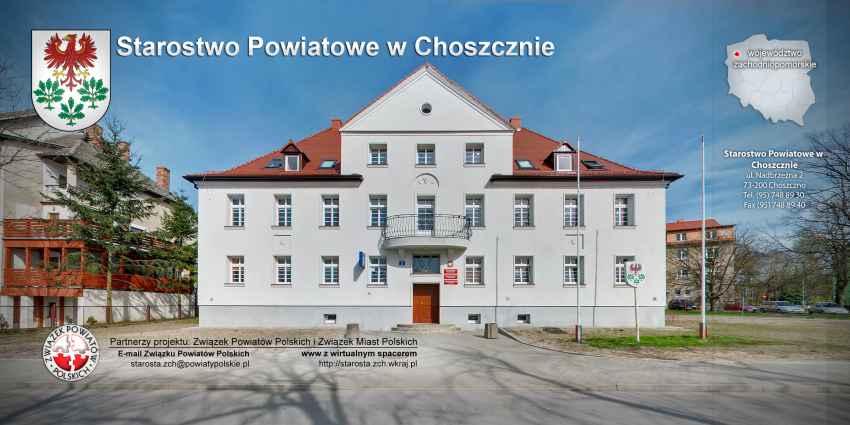 Prezentacja panoramiczna dla obiektu Starostwo Powiatowe w Choszcznie
