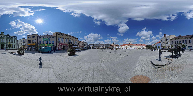 Prezentacja panoramiczna dla obiektu miasto OŚWIĘCIM - rynek po rewitalizacji