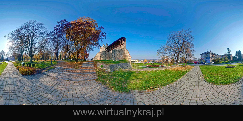 Prezentacja panoramiczna dla obiektu miasto NOWY SĄCZ