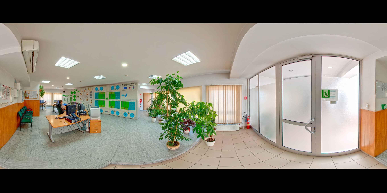 Prezentacja panoramiczna dla obiektu MPWiK - Oczyszczalnia Ścieków Płaszów