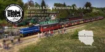 Prezentacja panoramiczna dla obiektu Żnińska Kolej Powiatowa
