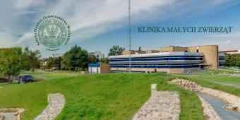 Prezentacja panoramiczna dla obiektu Klinika Małych Zwierząt SGGW