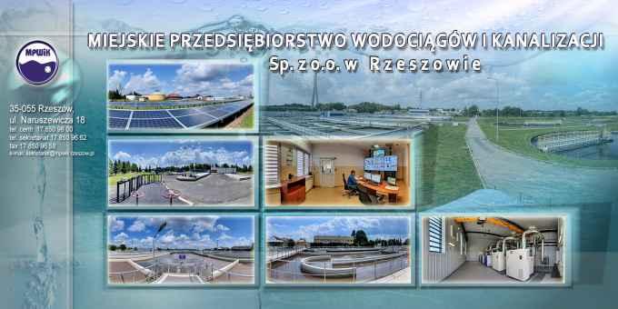 Prezentacja panoramiczna dla obiektu Miejskie Przedsiębiorstwo Wodociągów i Kanalizacji w Rzeszowie
