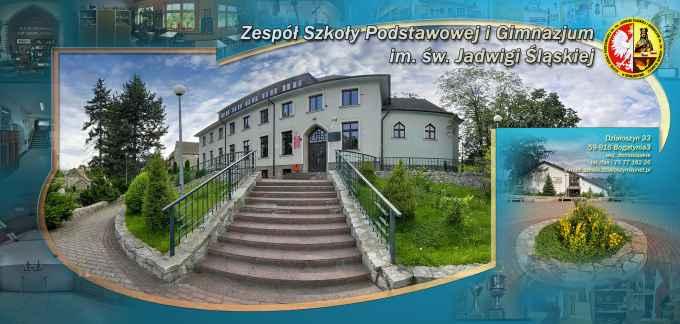 Prezentacja panoramiczna dla obiektu Szkoła Podstawowa im. Jadwigi Śląskiej i Gimnazjum