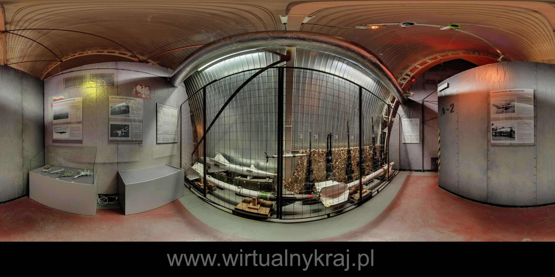 Prezentacja panoramiczna dla obiektu Muzeum Lotnictwa Polskiego - NATO 1949-2009
