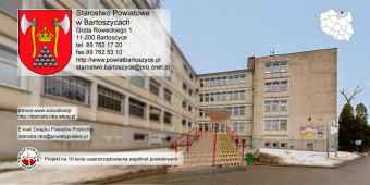 Prezentacja panoramiczna dla obiektu Starostwo Powiatowe w Bartoszycach