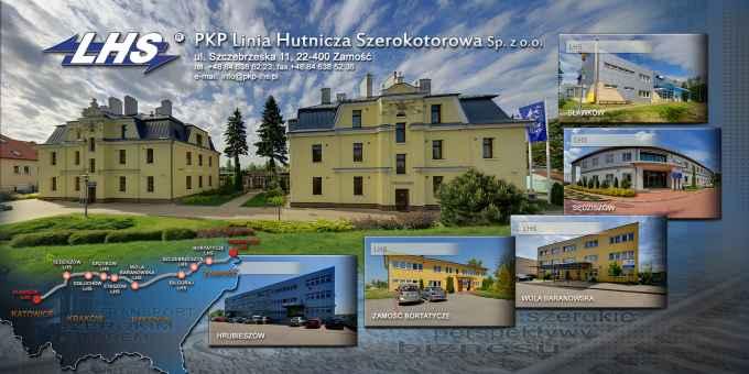 Prezentacja panoramiczna dla obiektu PKP Linia Hutnicza Szerokotorowa sp. z o.o.