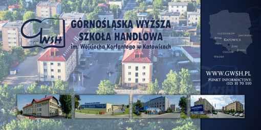 Prezentacja panoramiczna dla obiektu Górnośląska Wyższa Szkoła Handlowa