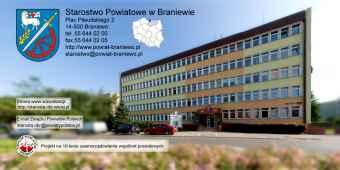 Prezentacja panoramiczna dla obiektu Starostwo Powiatowe w Braniewie