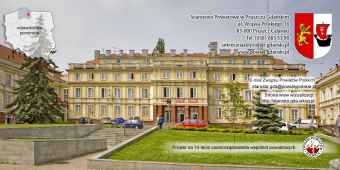 Prezentacja panoramiczna dla obiektu Starostwo Powiatowe w Pruszczu Gdańskim