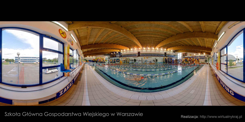 Prezentacja panoramiczna dla obiektu Obiekty Sportowe SGGW