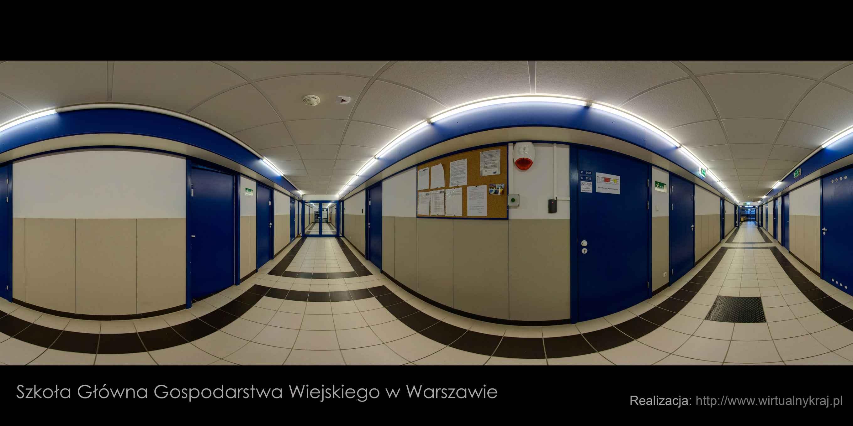 Prezentacja panoramiczna dla obiektu Centrum Analityczne SGGW