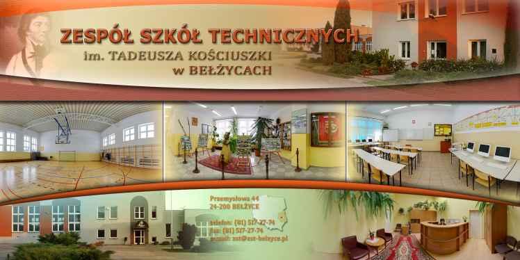 Prezentacja panoramiczna dla obiektu Zespół Szkół Technicznych im. Tadeusza Kościuszki w Bełżycach