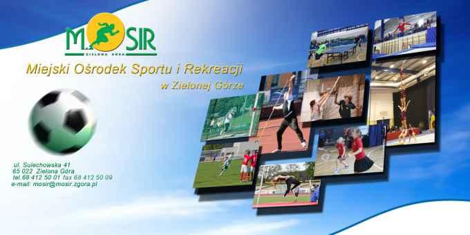 Prezentacja panoramiczna dla obiektu Miejski Ośrodek Sportu i Rekreacji w Zielonej Górze