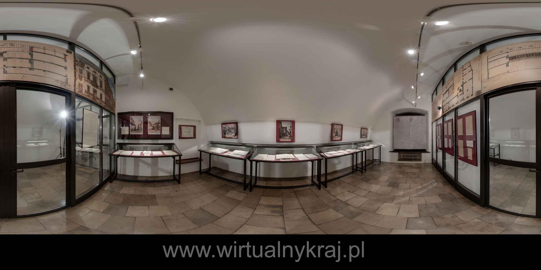 Prezentacja panoramiczna dla obiektu Archiwum Nauki PAN i PAU w Krakowie - 2016 r.