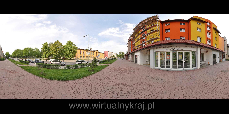 Prezentacja panoramiczna dla obiektu Biblioteka Publiczna Miasta i Gminy Bogatyni im. Polskich Noblistów