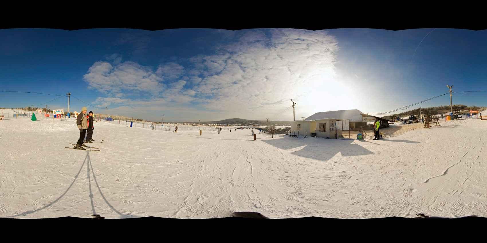 """Prezentacja panoramiczna dla obiektu ośrodek narciarski """"NIESTACHÓW"""""""