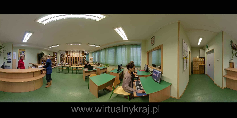 Prezentacja panoramiczna dla obiektu Wydział Humanistyczny AGH