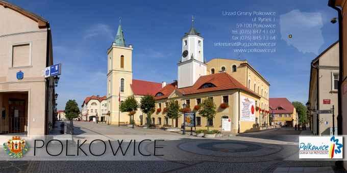 Prezentacja panoramiczna dla obiektu miasto POLKOWICE
