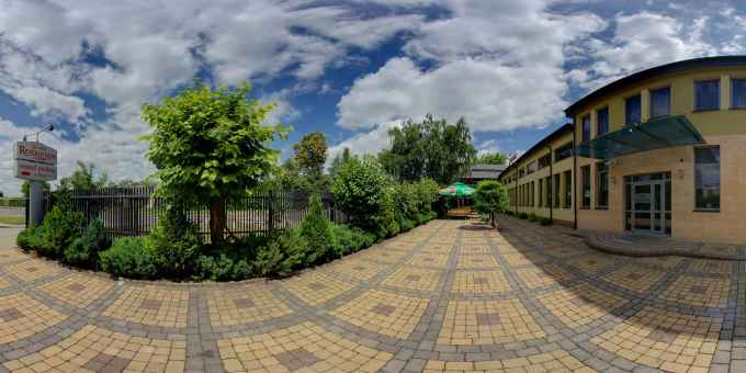 Prezentacja panoramiczna dla obiektu Restauracja SONATA