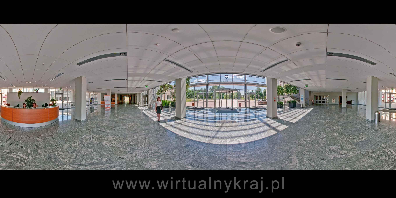 Prezentacja panoramiczna dla obiektu Wydział Zarządzania i Komunikacji Społecznej UJ