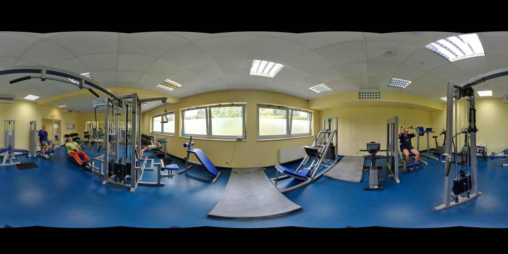 Prezentacja panoramiczna dla obiektu Centrum Sportu i Rekreacji