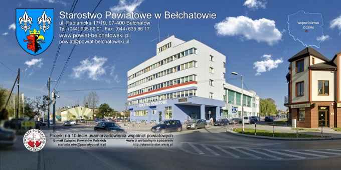 Prezentacja panoramiczna dla obiektu Starostwo Powiatowe w Bełchatowie