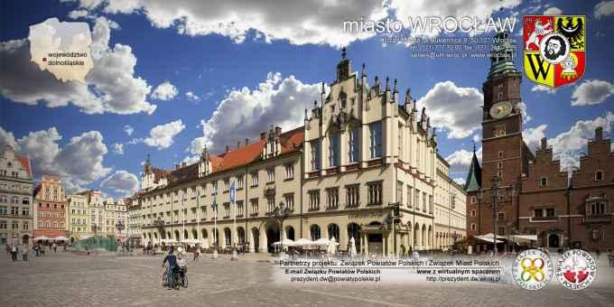 Prezentacja panoramiczna dla obiektu Urząd Miasta we Wrocławiu