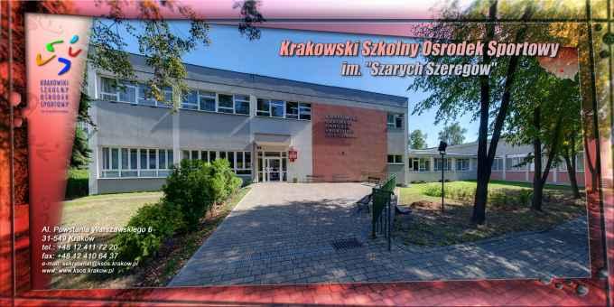 Prezentacja panoramiczna dla obiektu Krakowski Szkolny Ośrodek Sportowy