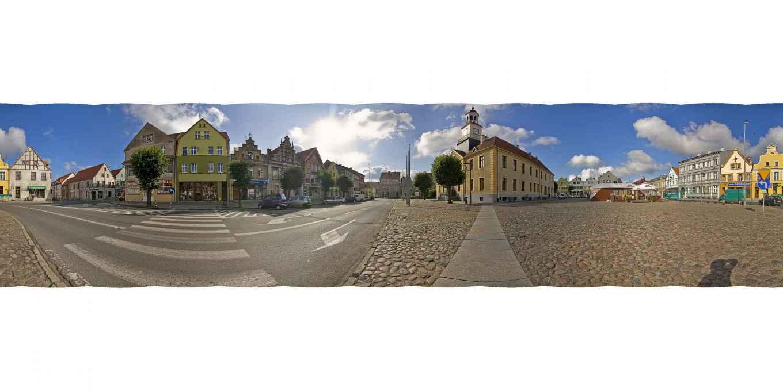 Prezentacja panoramiczna dla obiektu miasto TRZEBIATÓW