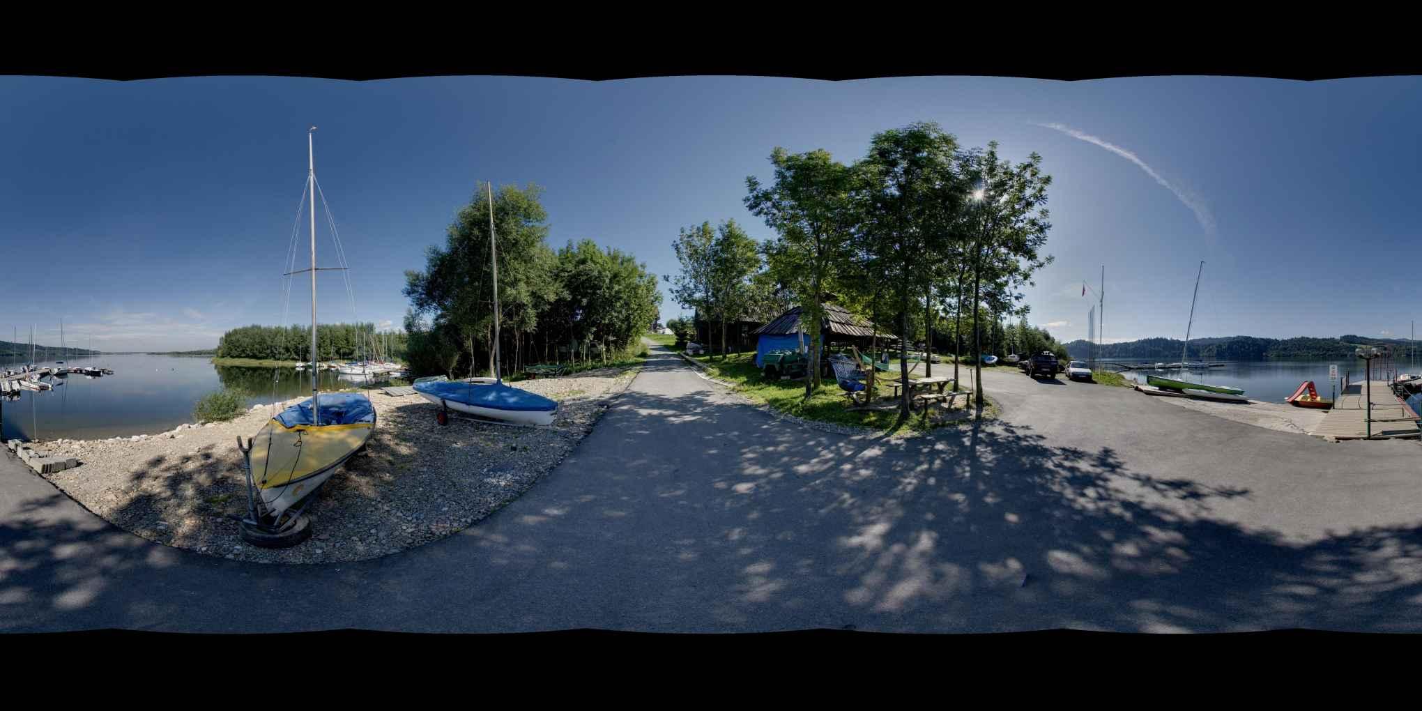 Prezentacja panoramiczna dla obiektu wieś KLUSZKOWCE