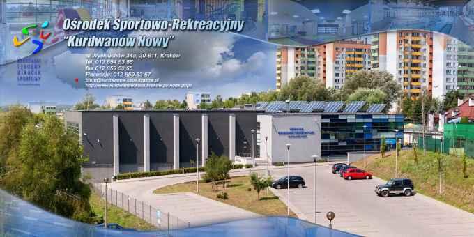 """Prezentacja panoramiczna dla obiektu Ośrodek Sportowo - Rekreacyjny """"Kurdwanów Nowy"""""""