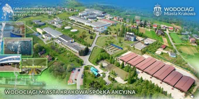 Prezentacja panoramiczna dla obiektu MPWiK - Zakład Uzdatniania Wody Raba