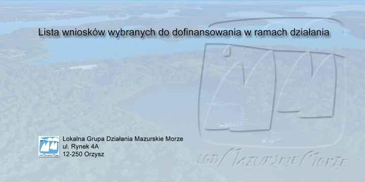 Prezentacja panoramiczna dla obiektu 4.1.c Podnoszenie wartości produktów rybactwa …