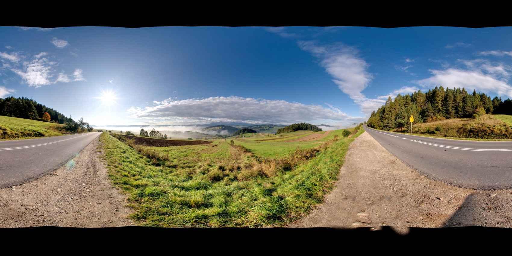 Prezentacja panoramiczna dla obiektu wieś SROMOWCE WYŻNE