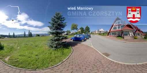 Prezentacja panoramiczna dla obiektu wieś MANIOWY