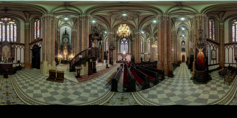 Prezentacja panoramiczna dla obiektu Kościół Katedralny
