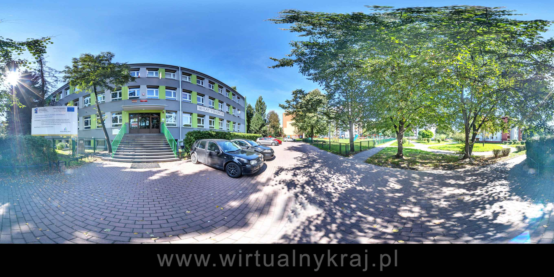 Prezentacja panoramiczna dla obiektu III Liceum Ogólnokształcące w Krakowie