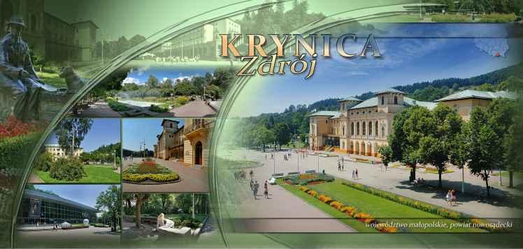 Prezentacja panoramiczna dla obiektu miasto KRYNICA-ZDRÓJ