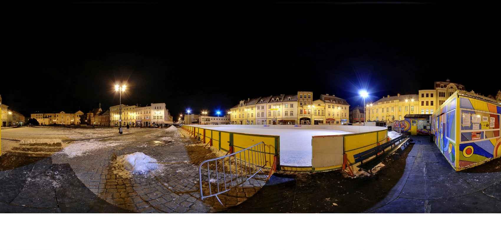 Prezentacja panoramiczna dla obiektu Bydgoszcz zimą - NOC