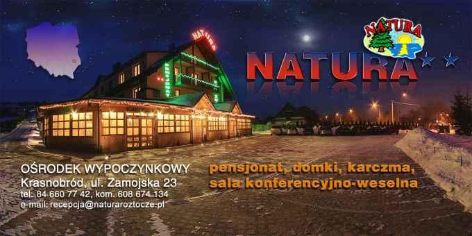 """Prezentacja panoramiczna dla obiektu Ośrodek Wypoczynkowy """"Natura"""""""