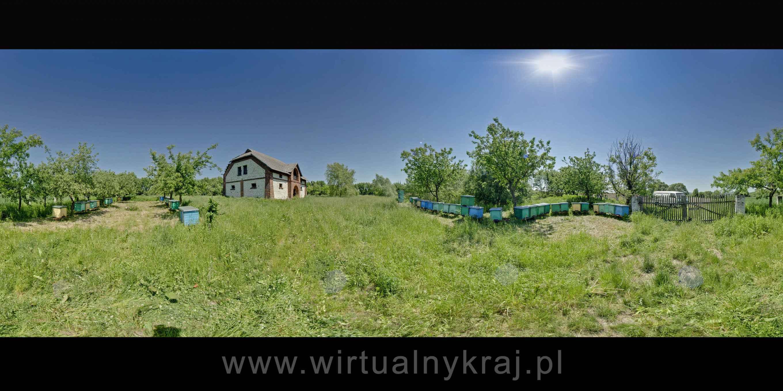 """Prezentacja panoramiczna dla obiektu Gospodarstwo Pasieczne """"Ulik"""""""