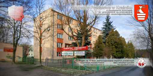 Prezentacja panoramiczna dla obiektu Starostwo Powiatowe w Kraśniku
